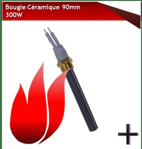 BOUGIES D'ALLUMAGE céramique 300w 90mm
