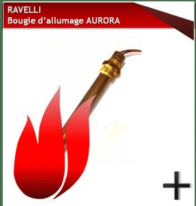 ravelli bougies d'allumage AURORA
