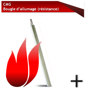 CMG BOUGIE D'ALLUMAGE
