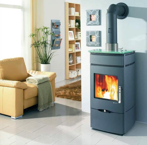 po le granul s sans lectricit nando acier 8 5kw. Black Bedroom Furniture Sets. Home Design Ideas