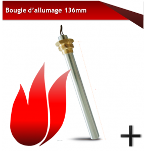 bougies d'allumage 136mm