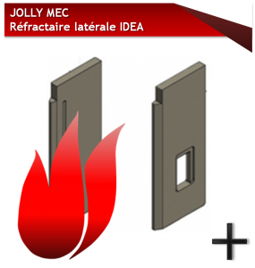 JOLLY MEC REFRACTAIRE LATERAL IDEA FRONTALE