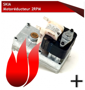 PIÈCES SKIA motoréducteur 2 RPM