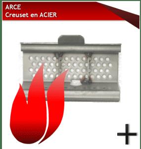 pièces ARCE CREUSET ACIER