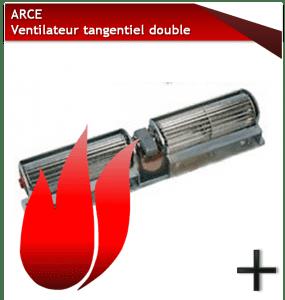 pièces arce ventilateur tangentiel double