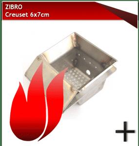 pièces zibro CREUSET 6X7CM