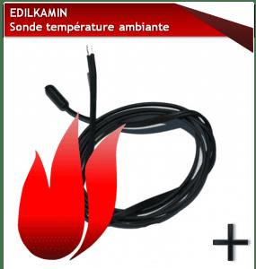 PIèCES EDILKAMIN SONDE-TEMPERATURE-AMBIANTE-EDILKAMIN