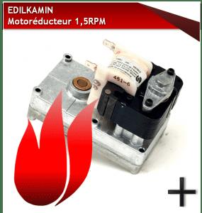 PIèCES EDILKAMIN MOTOREDUCTEUR-1-5-RPM-EDILKAMIN