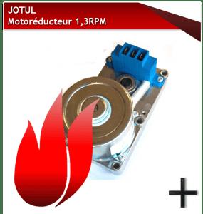 PIECES JOTUL MOTOREDUCTEUR 1,3 RPM