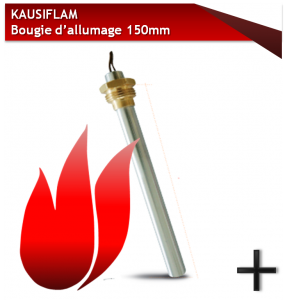 pieces kausiflam bougie 150mm