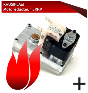 PIECES KAUSIFLAM MOTOREDUCTEUR 3 RPM
