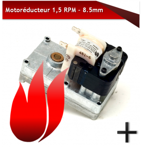 MOTORÉDUCTEURS 1.5RPM 8.5