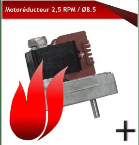 Motoréducteurs 2.5RPM 8.5