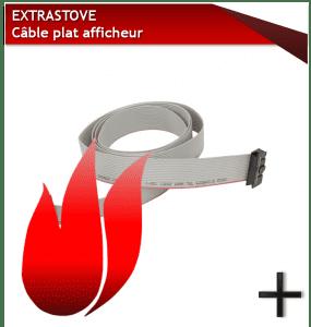 PIÈCES EXTRASTOVE CABLE-AFFICHEUR