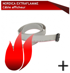 PIÈCES NORDCA EXTRAFLAMME cable afficheur