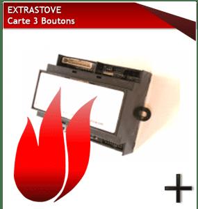 extrastove carte 3 boutons
