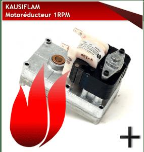 PIECES KAUSIFLAM MOTOREDUCTEUR-1-RPM