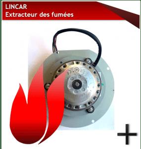 PIÈCES LINCAR extracteur des fumées
