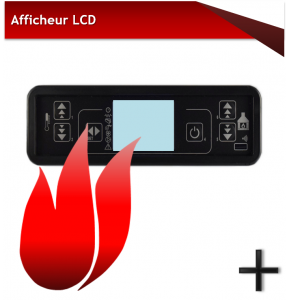 AFFICHEUR LCD 6 BOUTONS