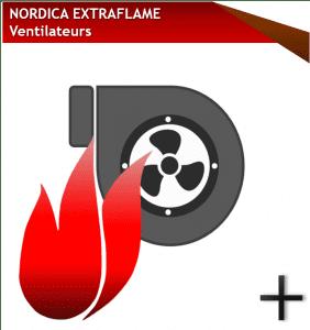 pieces nordica extraflame ventilateurs